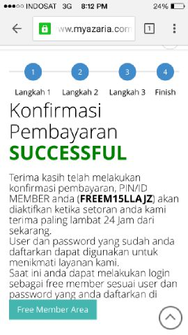 Cara Daftar Secara Online Bisnis Myazaria