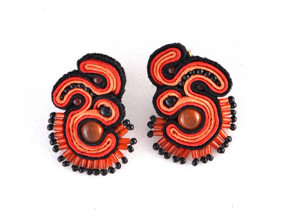kolczyki sutasz soutache earrings 6