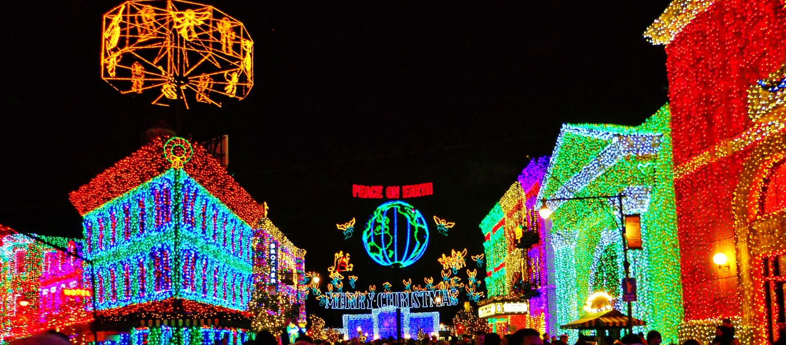 ... One Of The Most Exhilarating Spectacles Of 4 Million+ Christmas Lights  Appears On Residential Street In Disneyu0027s Hollywood Studios The Osborne  Family ...