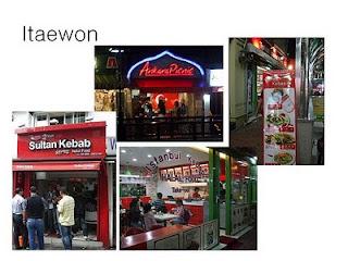 pusat jajaan halal di korea selatan