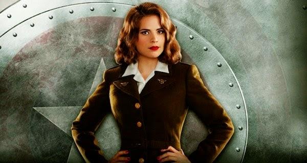 Hayley Atwell es Peggy Carter en la segunda temporada de Agentes de S.H.I.E.L.D.