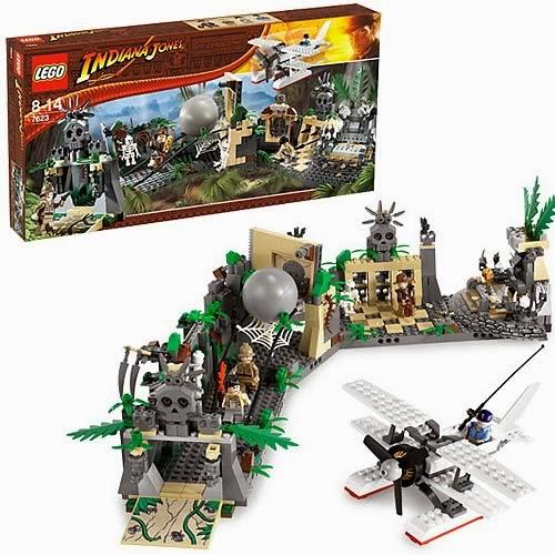 LEGO INDIANA JONES 7623 JOCK Minifigures New
