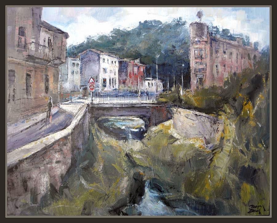 Ernest descals artista pintor angl s pintura girona - Pintores en girona ...