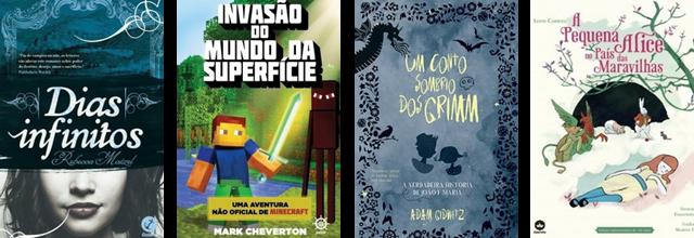Lançamento de Livros - Abril / Editora Galera