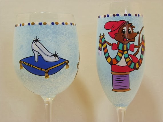princess wine glass