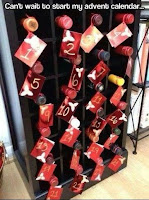 wine rack advent calendar