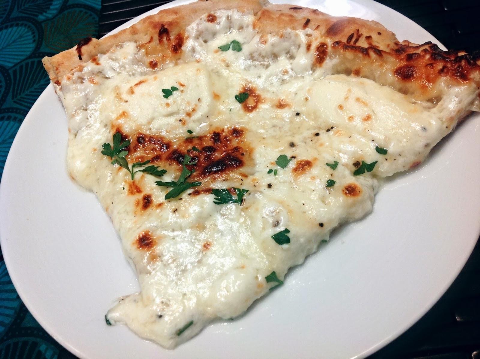 Ricotta & Rapini Pizza Recipe — Dishmaps