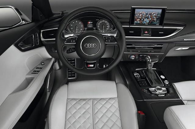 2013 Audi S7 Sportback Front Interior