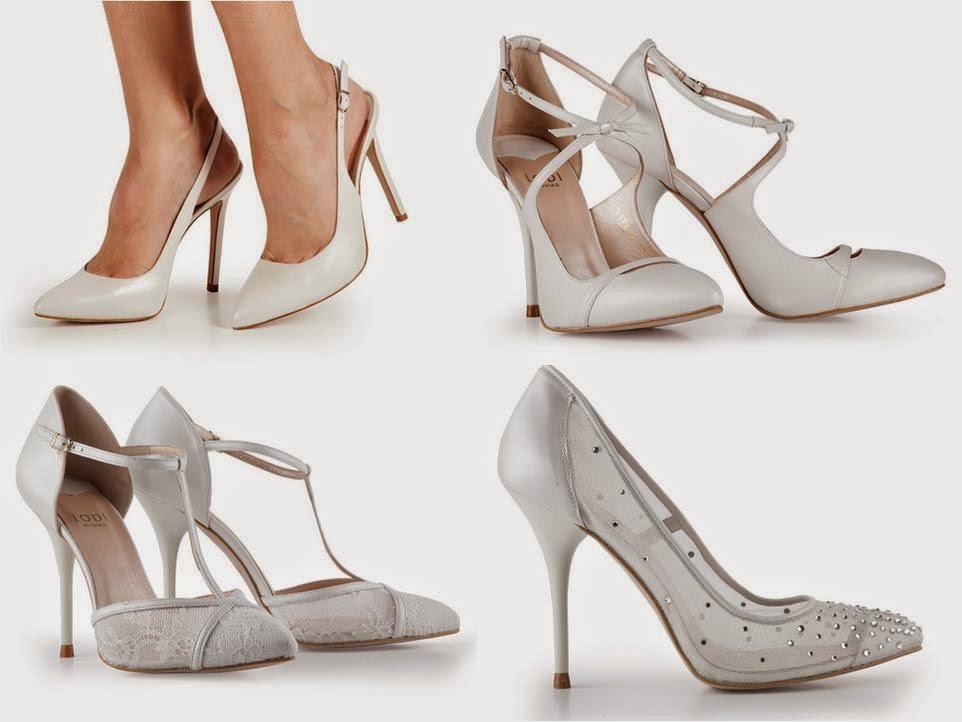 Los zapatos de novia blancos parece que cada día tienen menos seguidoras,  pero aún así hay muchas novias fieles a este color.