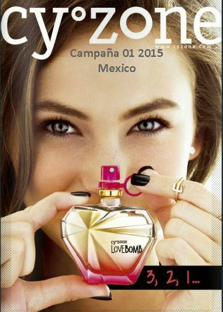 Catalogo de Cyzone Campaña 01 2015 mexico