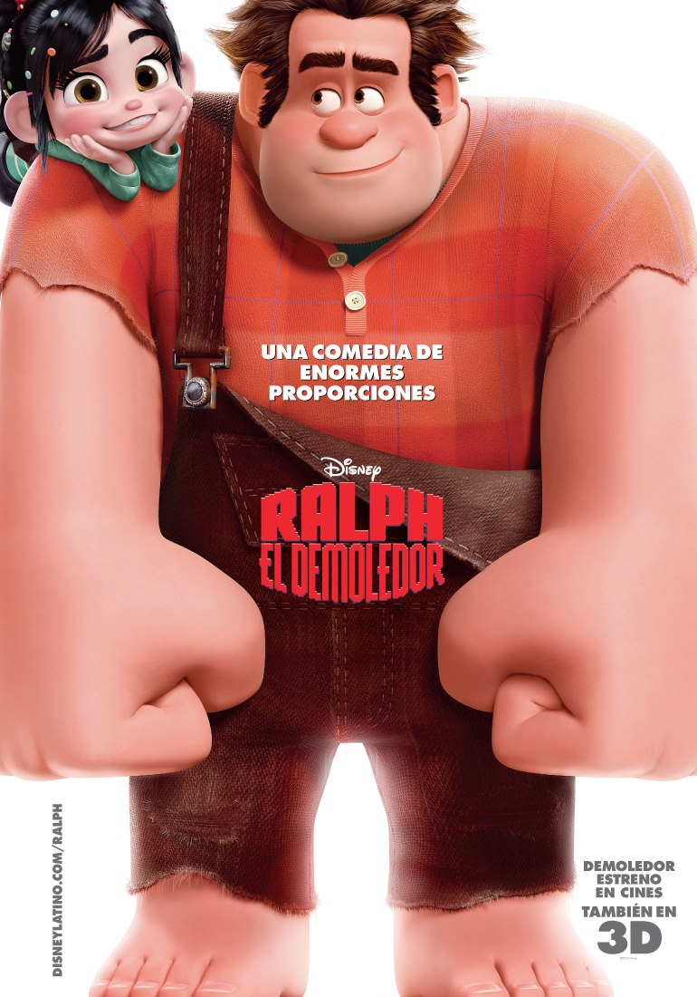 Ver pelicula Ralph: El demoledor (2012) [Latino] online