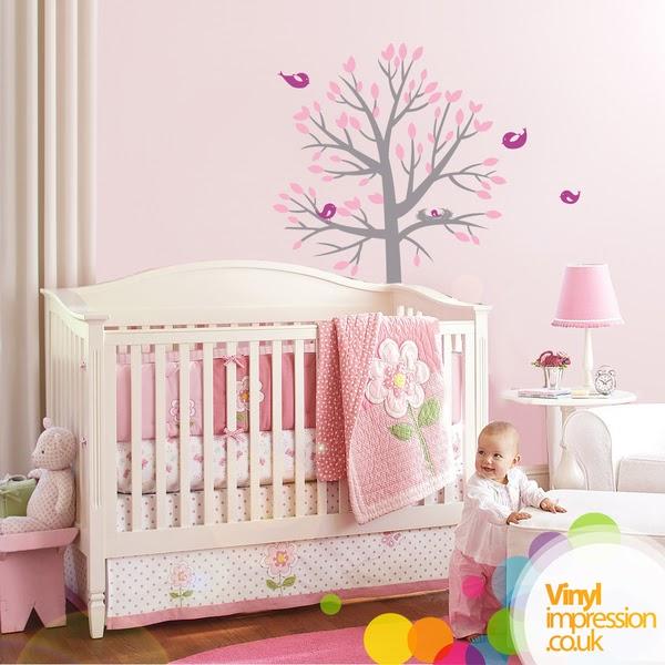 Viniles wall stickers dormitorio del for Pegatinas dormitorio bebe
