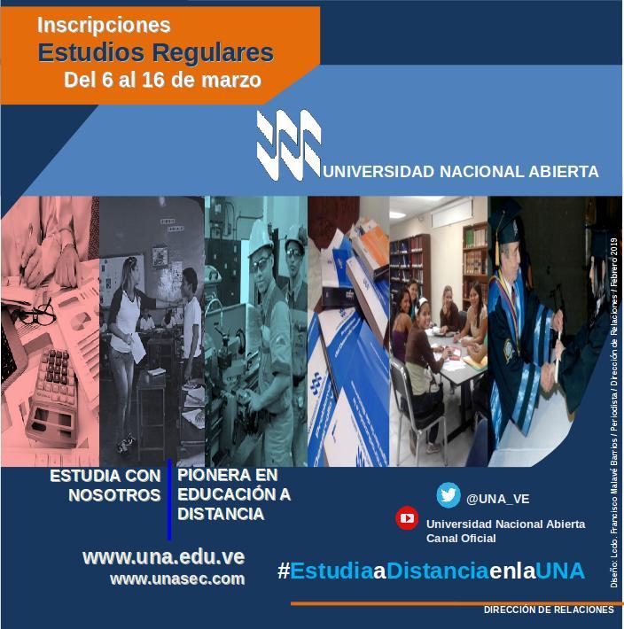 INSCRIPCIONES ESTUDIOS REGULARES ABIERTAS
