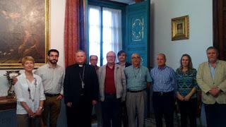 Comisión de Justicia y Paz con Mons. Lorca