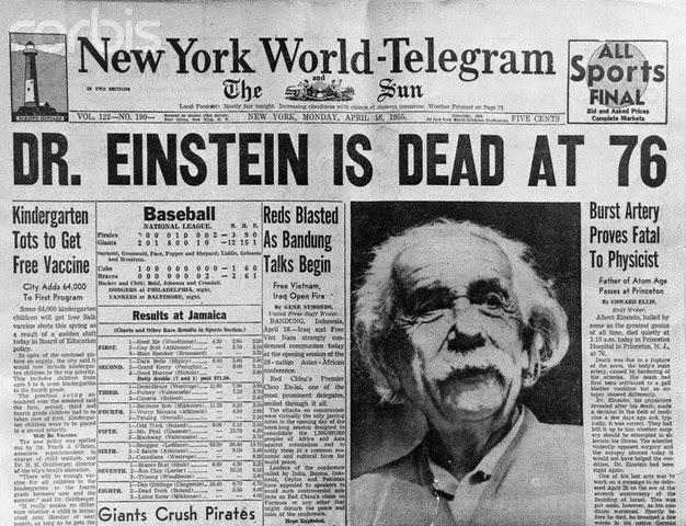 Death of Einstein