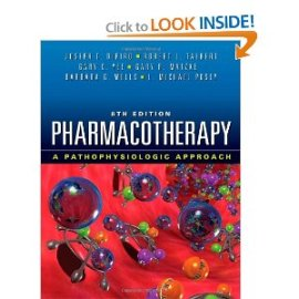 Pharmacotherapy: A Pathophysiologic Approach 8e, DiPiro
