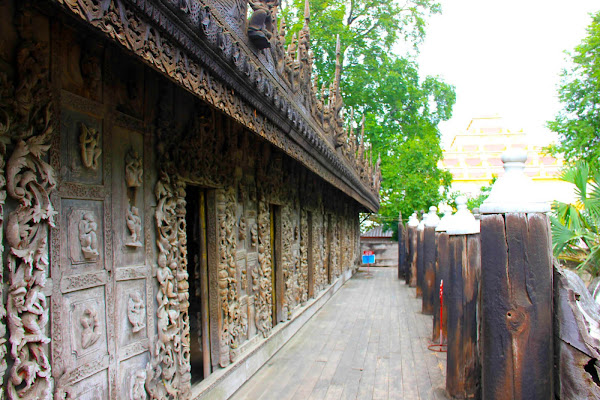 Templo Shwenandaw Kyaung de Mandalay
