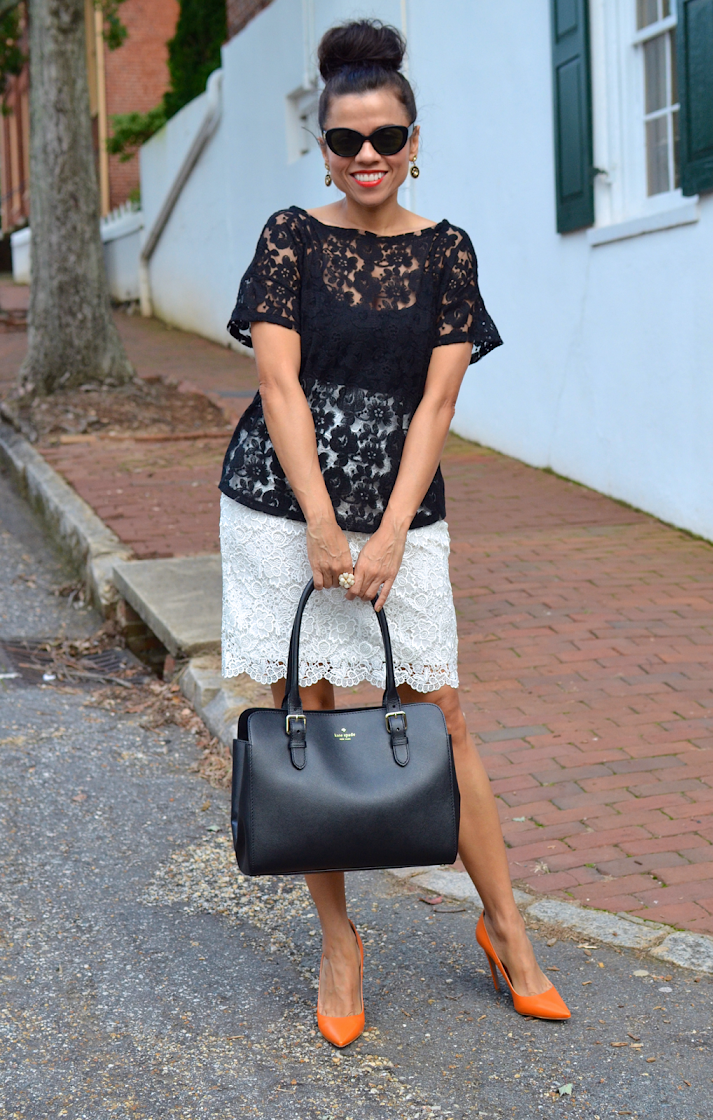 Day Time Outfit With Lace