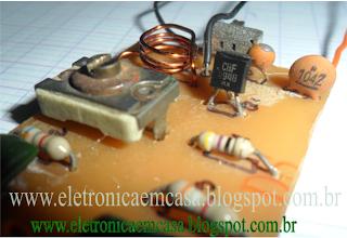 Transmissor de FM protatil, FM, RF, mini transmissor