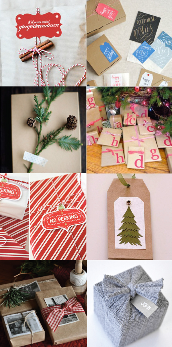 Christmas gift packaging ideas (via Holly Would)