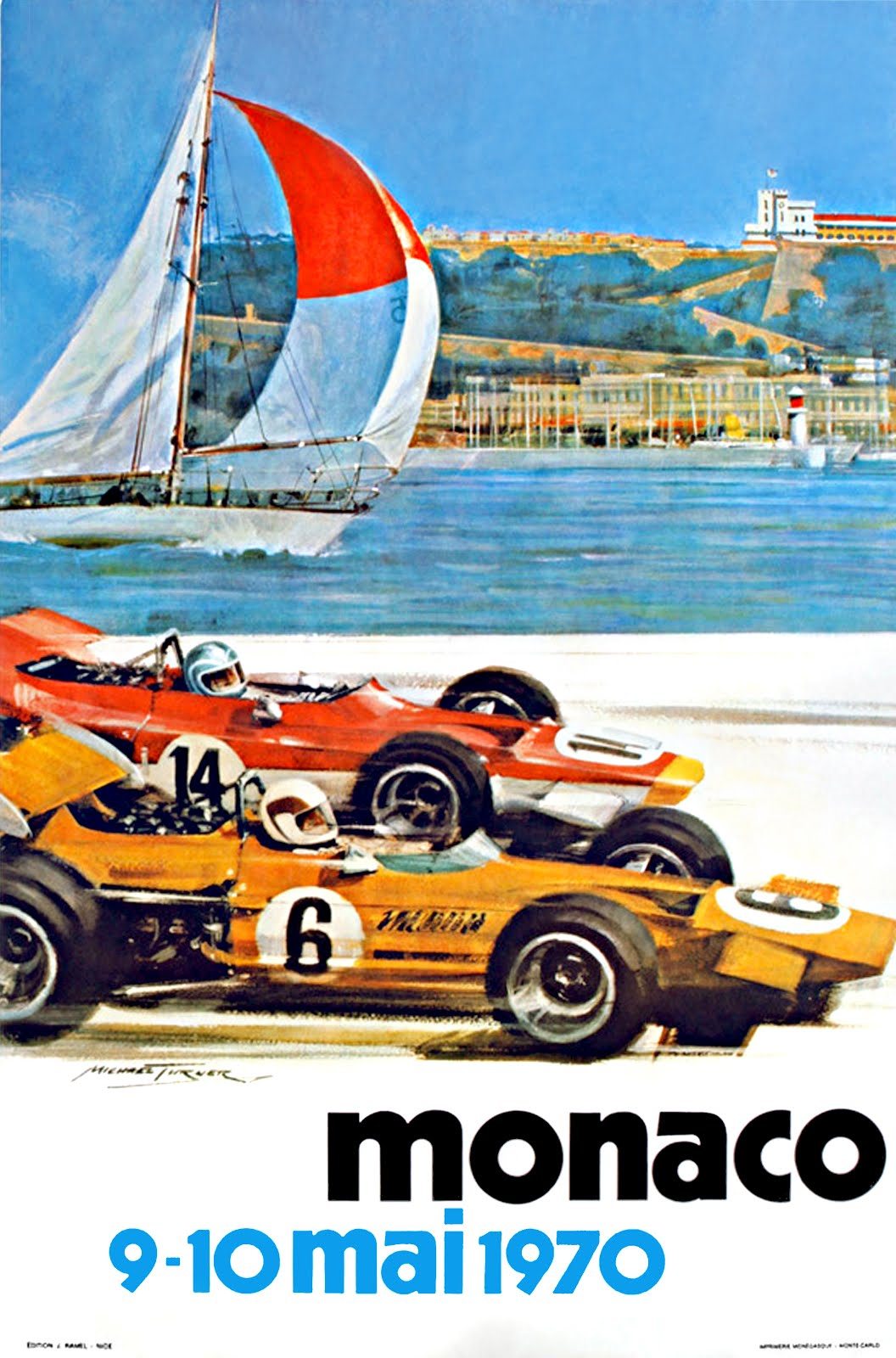 Monaco Posters