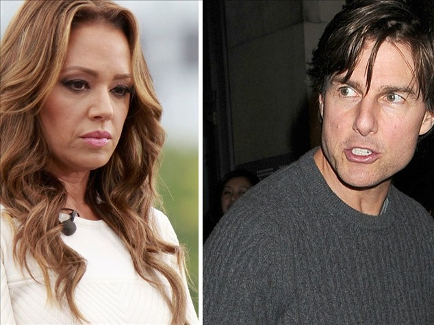 Tom Cruise will disengage: evil hostility against Leah Remini