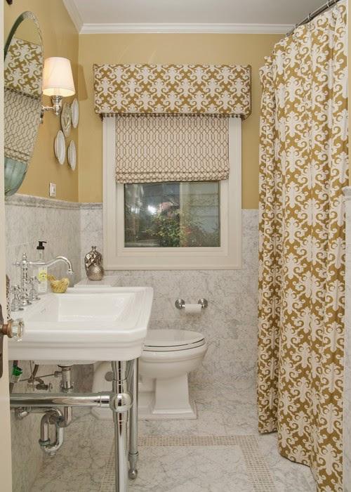 rideau moderne de douche sur mesure