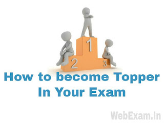 Special Tricks How to become a Topper in Your Exam Easily
