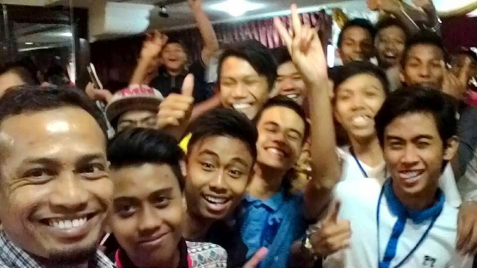 Transformasi Minda Remaja, bakal-bakal pemimpin bersama Khir Khalid