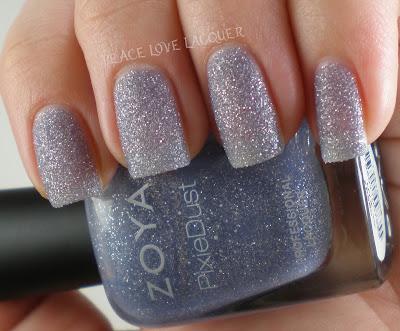 Zoya, PixieDust, Pixies, texture polish, sparkle, periwinkle, lavendar, lavender