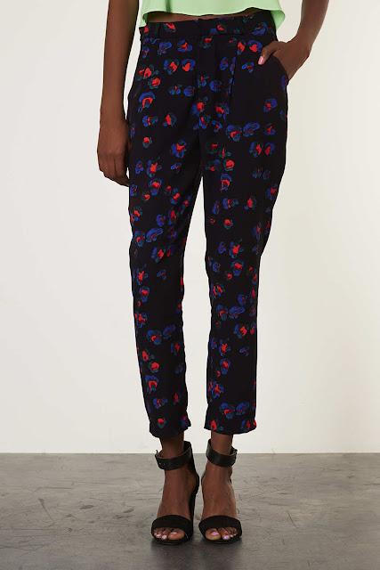 topshop tapered trousers