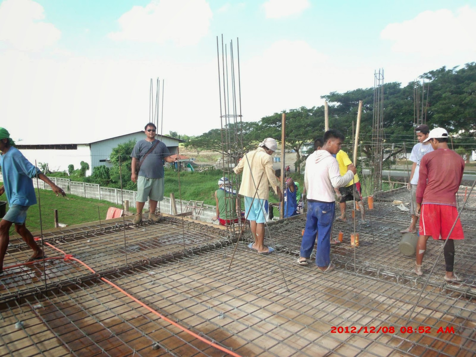 Savannah Trails house construction project in Oton, Iloilo ...