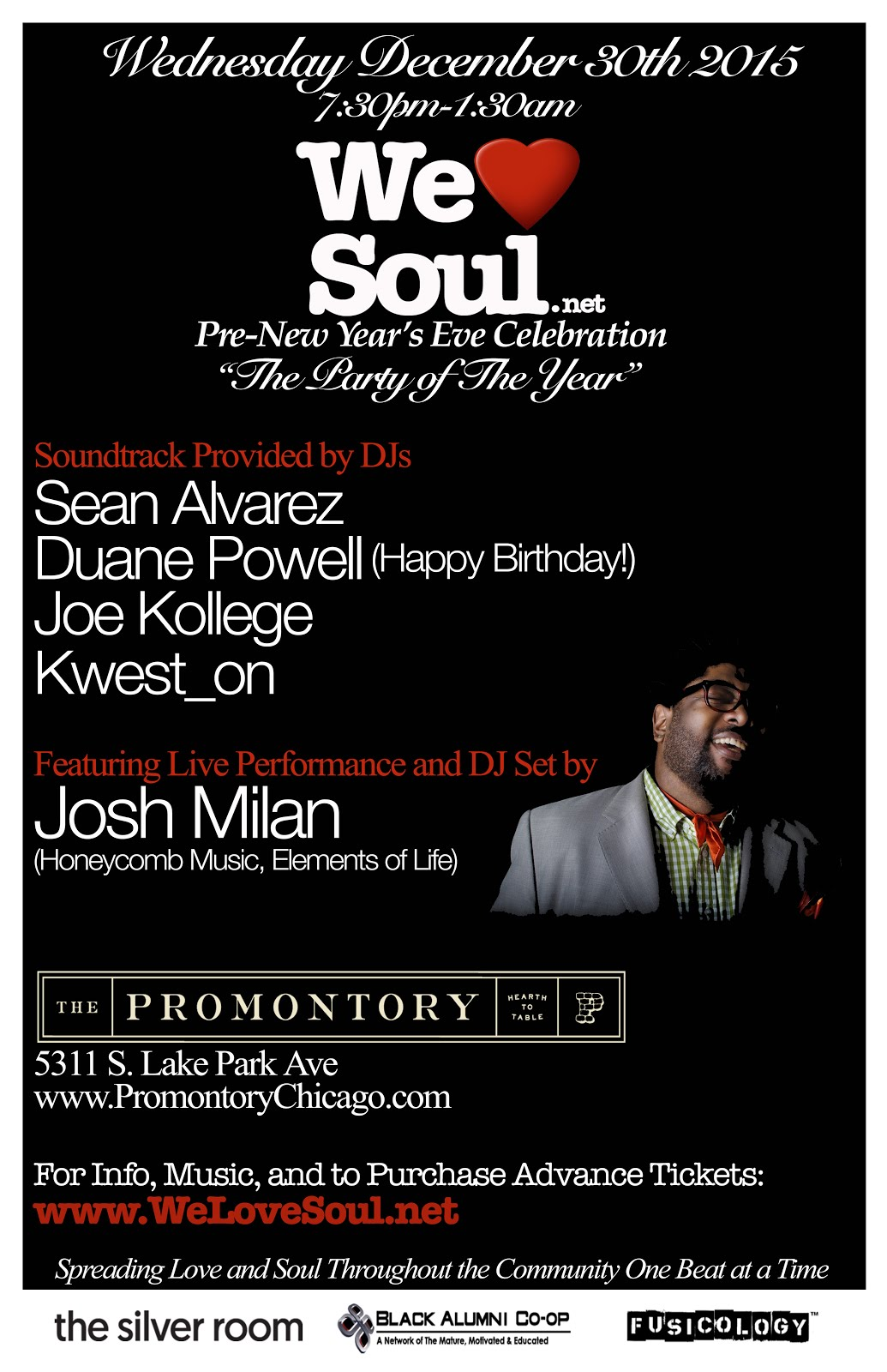 "WLS Pre-NYE Celebration ""The Party of The Year"""