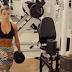 Treino de quadríceps da Atleta Daniele Balas