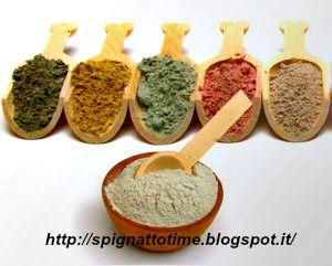ricette cosmetiche con argilla, argilla verde, argilla bianca, argilla rossa