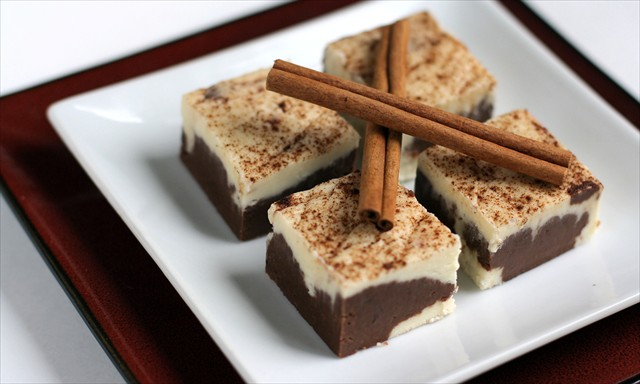 Cinnamon Marble Fudge: Butter with a Side of Bread