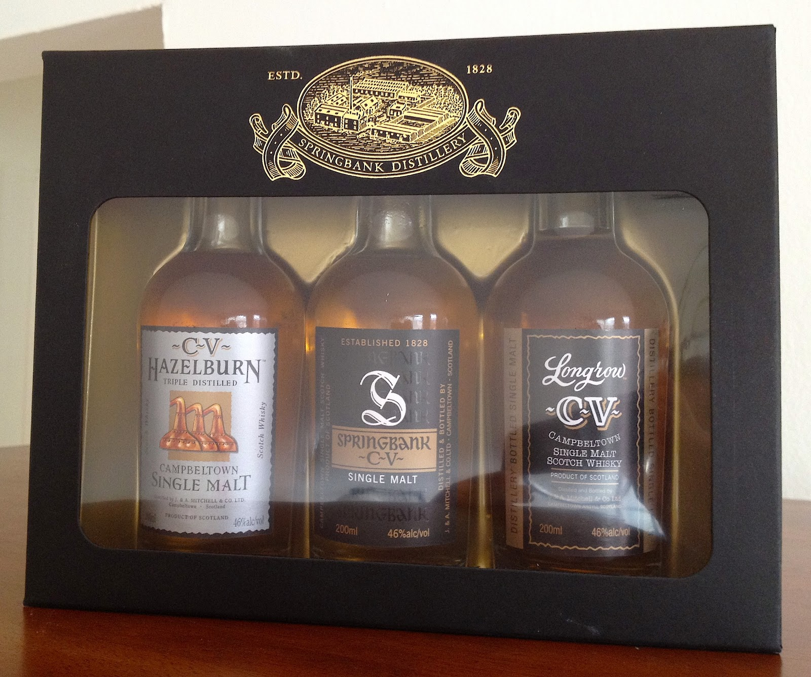 chemistry of the cocktail  whisky review  campbeltown gift set