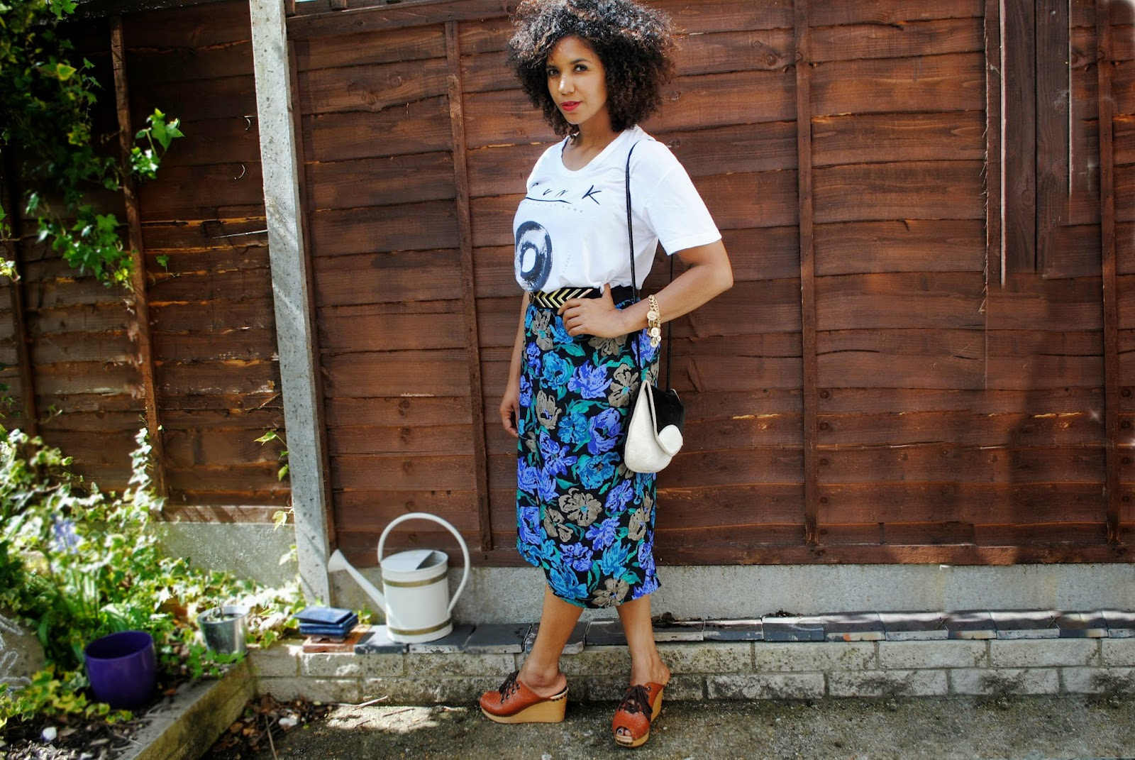 How to style a midi granny skirt