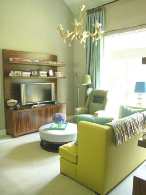 Sala De Estar Verde ~  de decoración verde sala de estar salas de color verde salas de estar