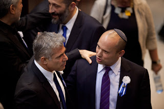 Photo of Yair Lapid with Naftali Bennett