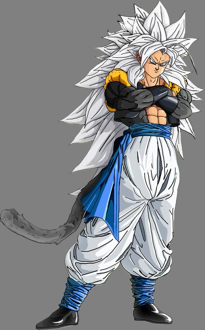 Dragon ball z wallpapers gogeta super saiyan 5 - Goku super sayan 5 ...