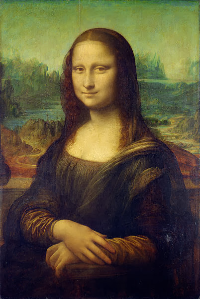 "Painting ""Mona Lisa"" by Lonardo da Vinci, 1503-1506"