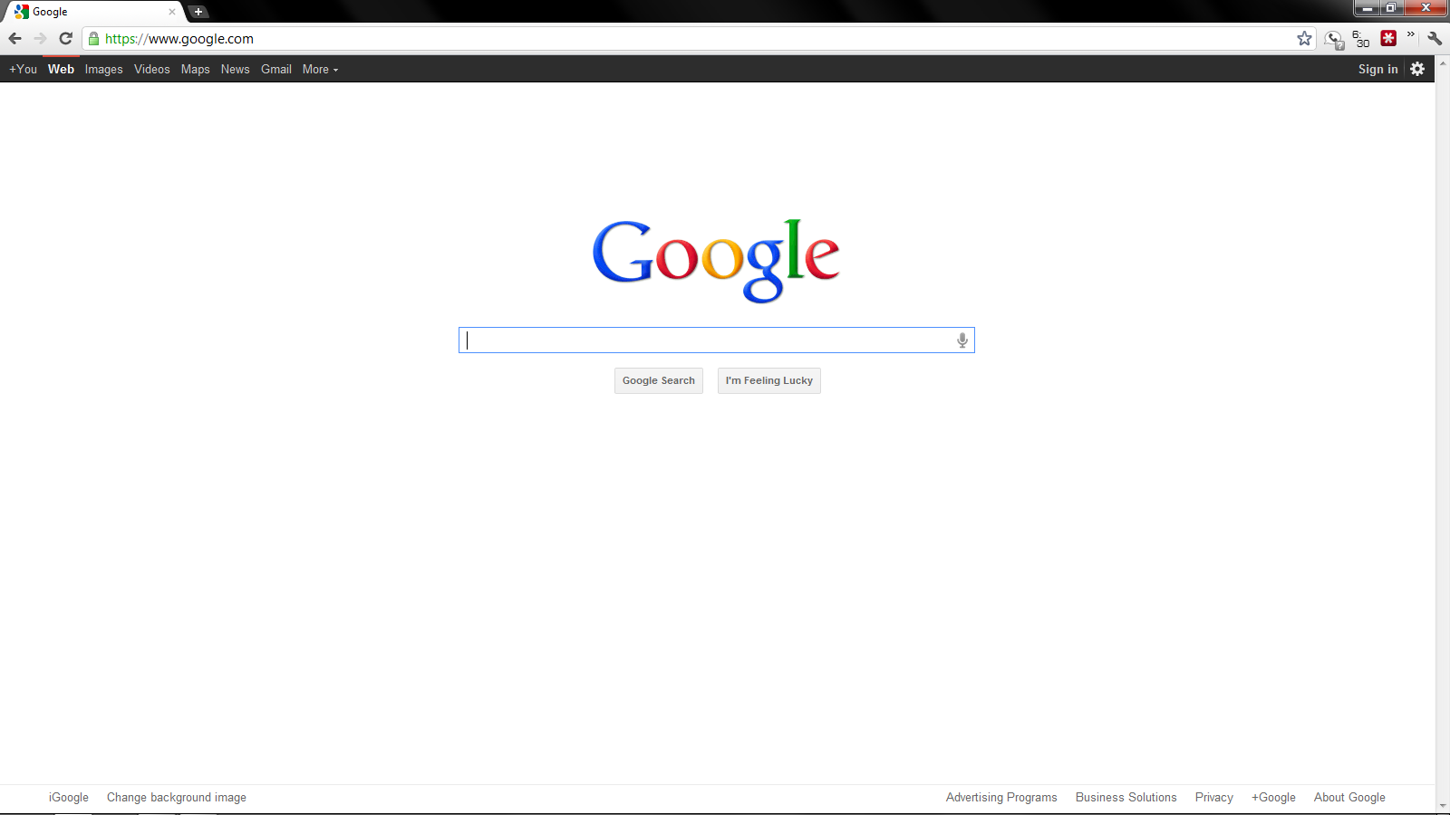 how to get your search bar to be google