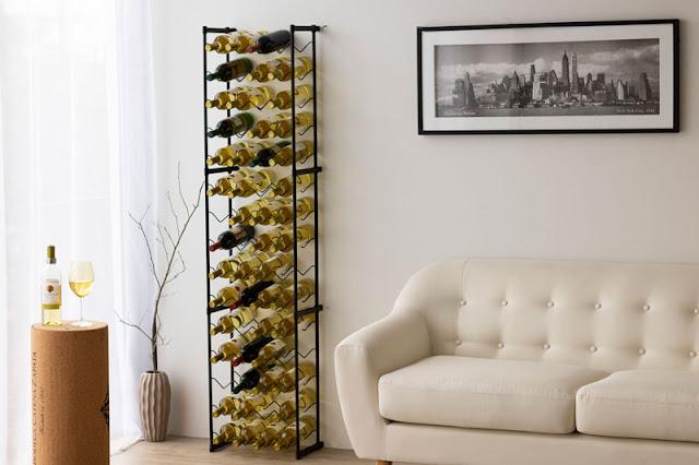 Combo com 3 Garrafeiros Aramados para 60 Garrafas de Vinho