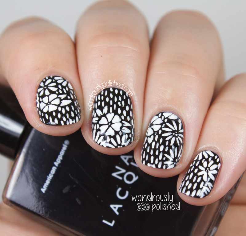 Wondrously Polished: The Beauty Buffs - Black and White Trend: Wood ...