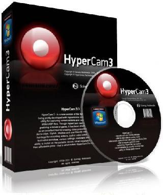 برنامج تسجيل الفيديو من شاشة سطح المكتب للويندوز والصوت وتقطيعة Solveig MM HyperCam 3.5