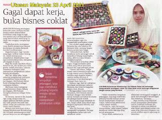 Siti @shocolats Dalam Utusan Malaysia