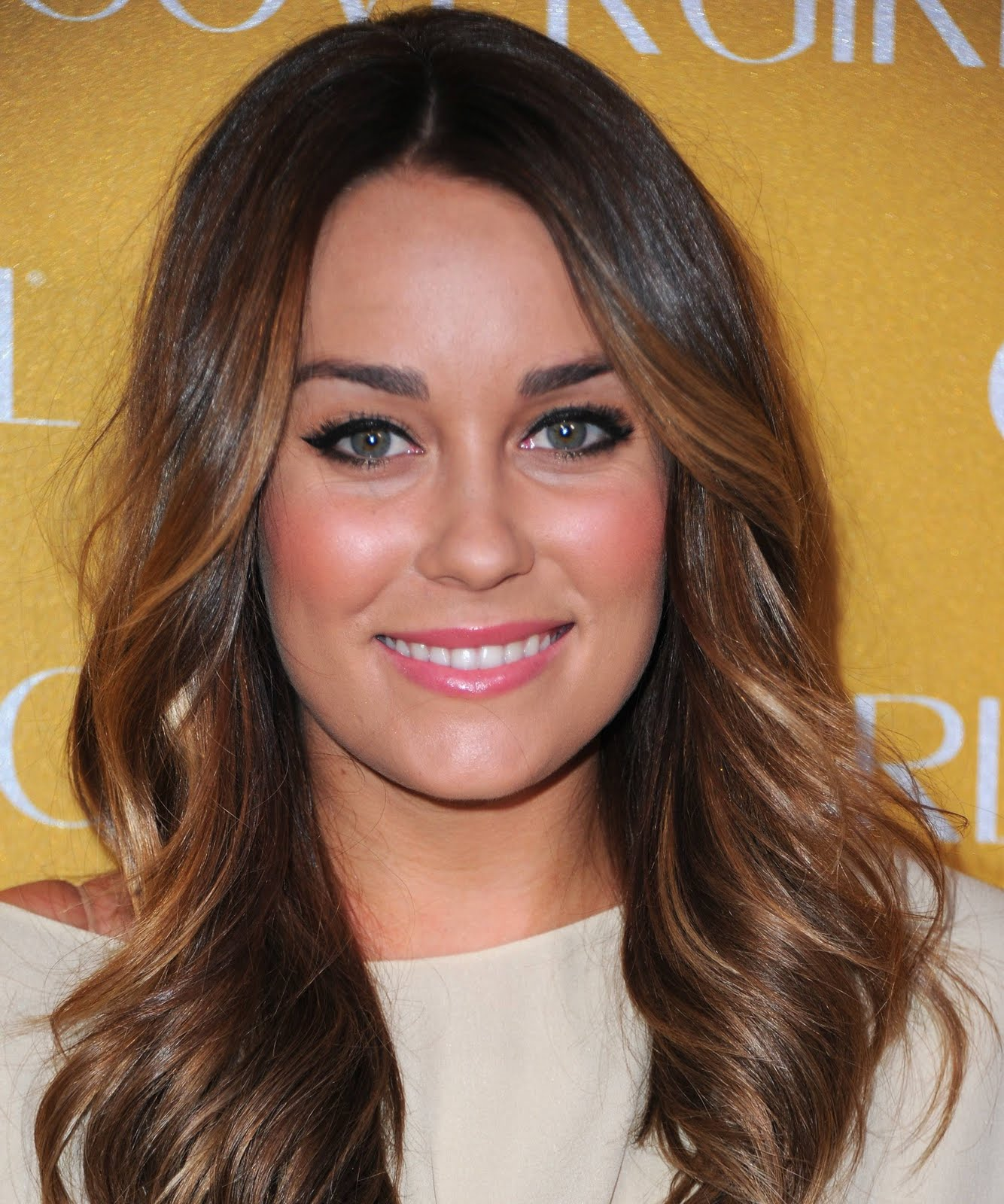 Celebrity Ombre Hairstyle - Lauren Conrad