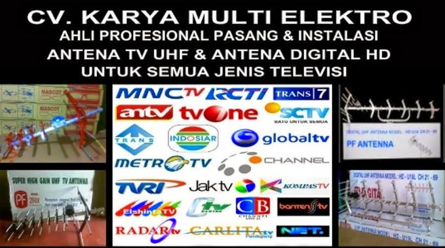 AGEN PASANG ANTENA TV