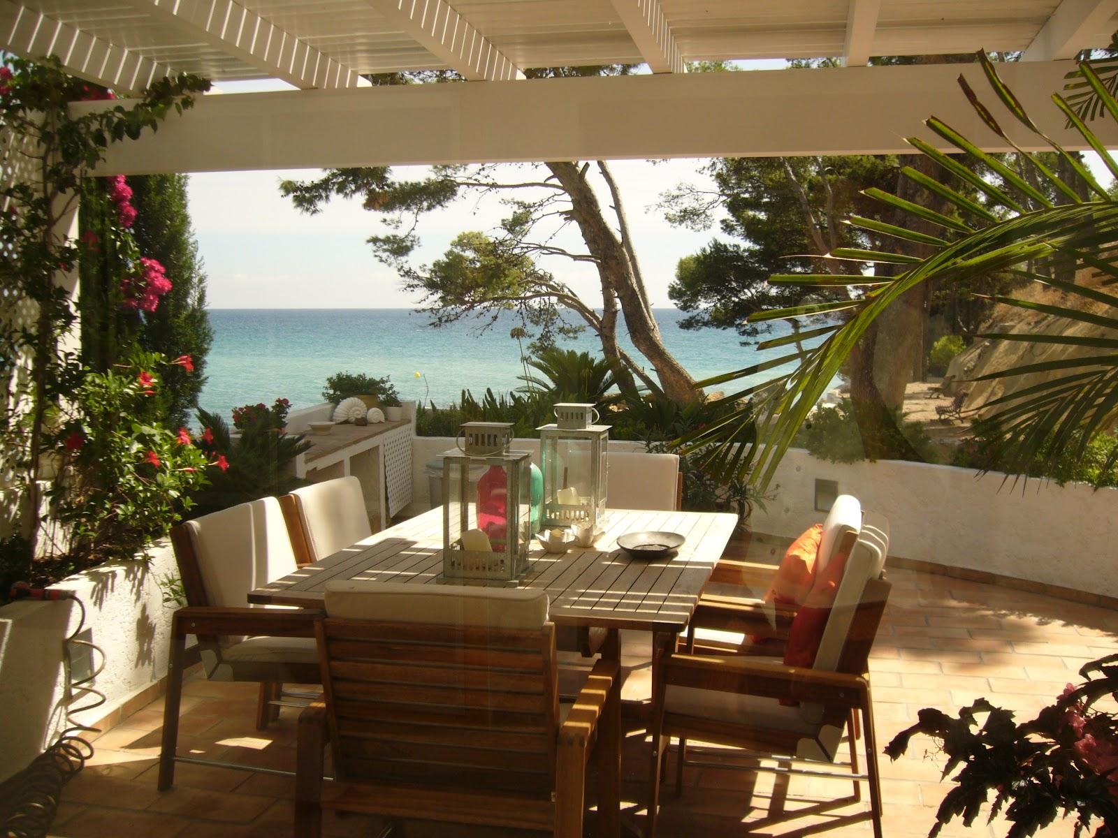 Trazos y telas porches y terrazas - Telas para terrazas ...